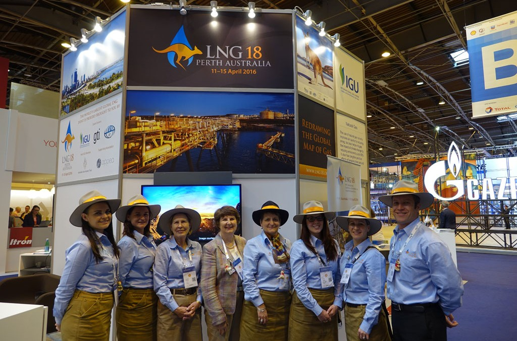 LNG 18 shines at the World Gas Conference in Paris