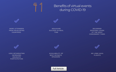 41 Benefits of Virtual Events During COVID-19