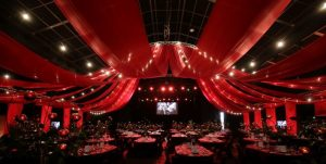 Big Top tent dinner design