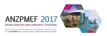 ANZPMEF 2017 Conference