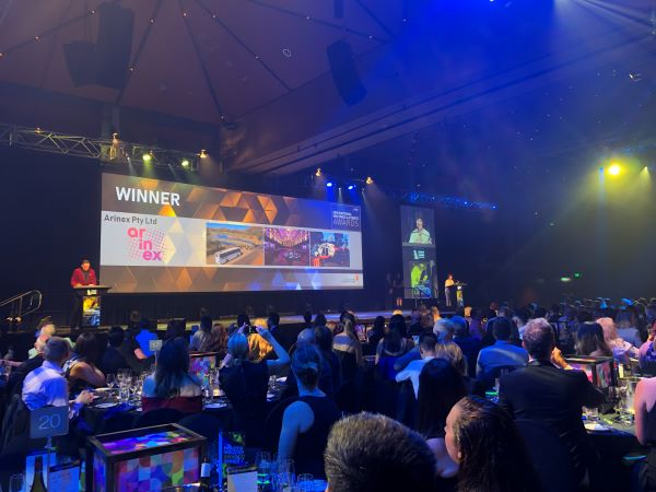 Arinex success at MEA National Awards