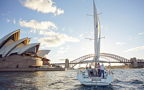 Sailing on the Harbour