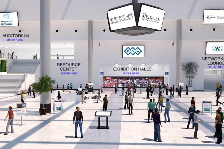 Virtual 3D exhibition