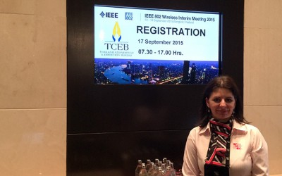 IEEE 802 Wireless Interim Meeting a success in Bangkok