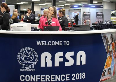 Intelligent design almost quadruples outdoor exhibition | New South Wales Royal Fire Service Association (RFSA) of Conference and Exhibition 2018