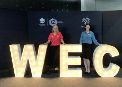 Keeping 1,100 speakers on time – down to the minute | World Engineers Convention Australia (WECA) 2019